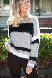 Chandler Knit - Black Multi