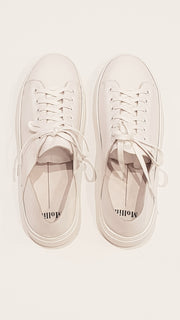 Mollini Oskher White Sneakers | Mabel and Woods | Women's Fashion