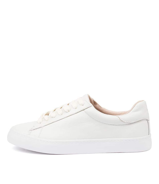 Session Sneakers - White Leather