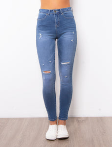 Kylie Jeans - Mid Blue
