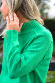 Funnel Knit Long - Green