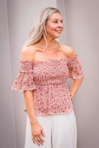 Olina Top - Floral