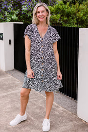 Annie Dress - Leopard | Mabel and Woods | Women's Fashion