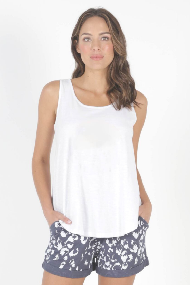 Boston Tank - White