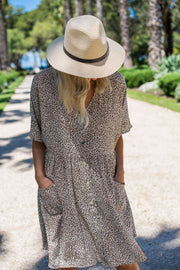 Hero Tunic Dress - Leopard