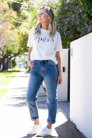 Relax Mom Jeans - Blue Denim | Mabel and Woods | Women's Fashion