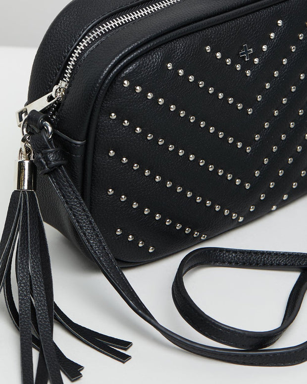 Peta & Jain Gracie Bag - Black Stud | Mabel and Woods | Women's Fashion