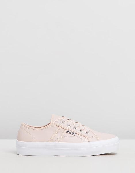 Cass Sneakers - blush pink leather