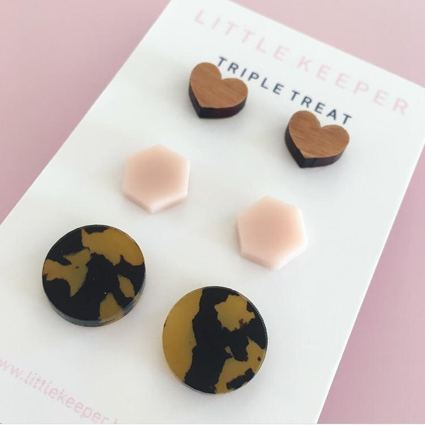 Little Keeper Triple Treats - Mixed Shapes