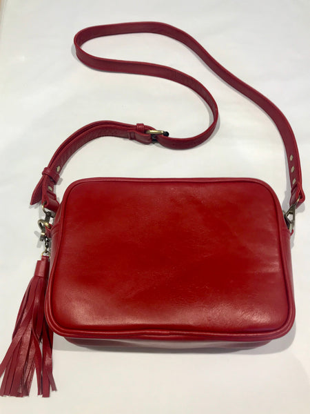 The Mabel - Red Leather