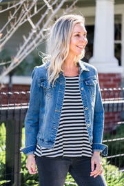 Dylan Denim Jacket | Mabel and Woods | Women's Fashion