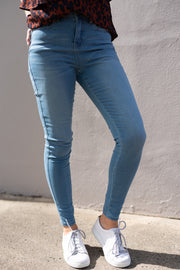 Khloe Jeans - mid blue | Mabel and Woods | Women's Fashion