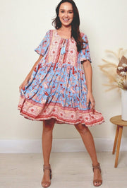 Natalie Short Tunic Dress