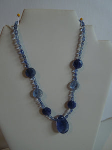Blueberry Quartz Necklace