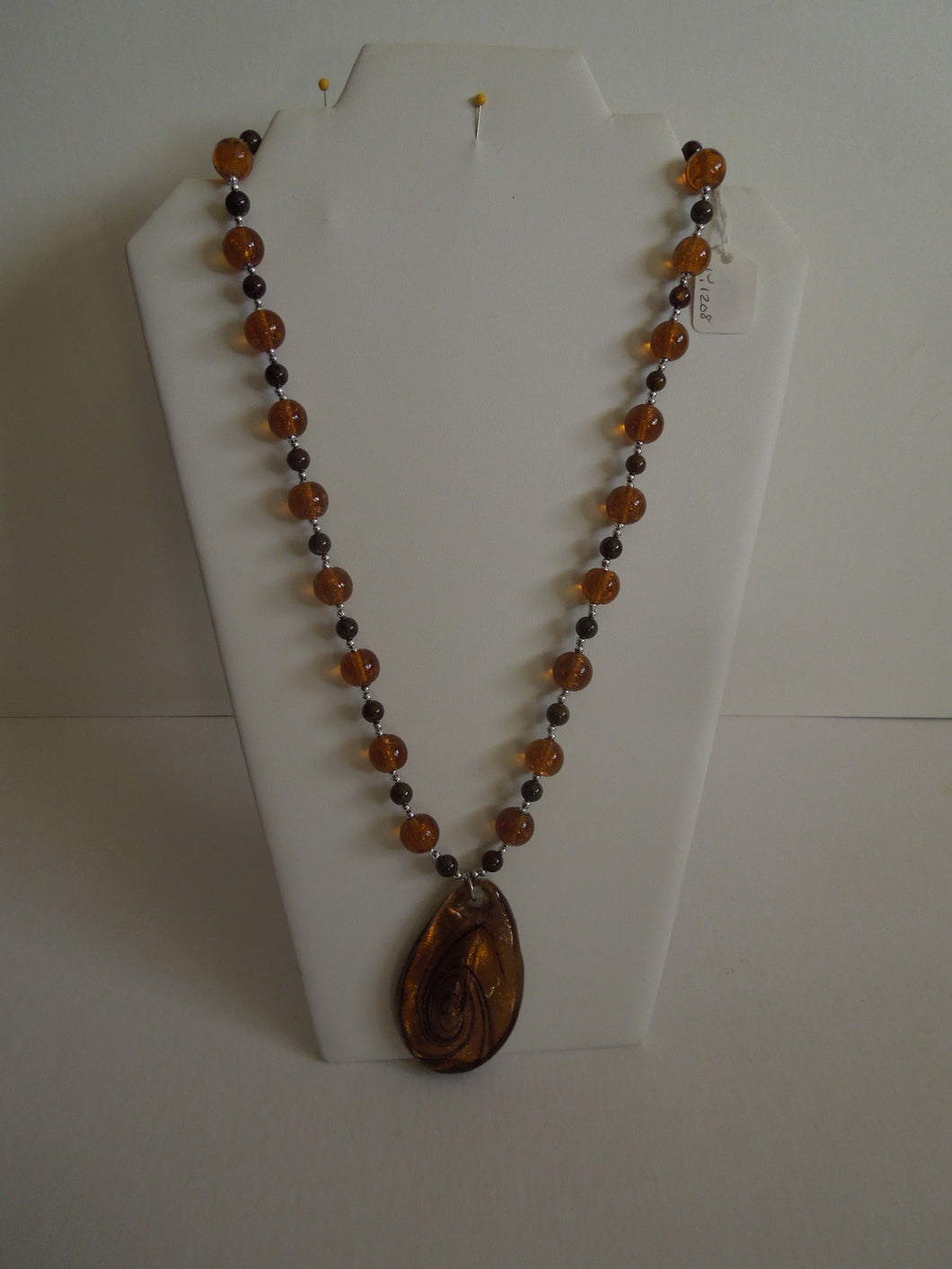 Jewelry - Copper, Brown and Silver Beads