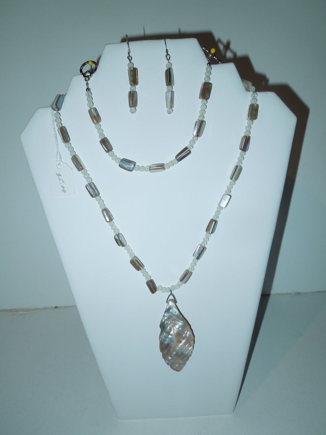 Shell and Mother of Pearl Beads