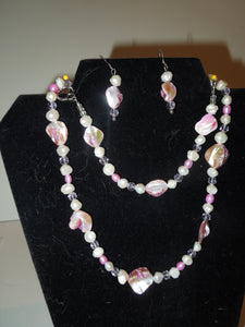 Jewelry - Pink and White Fresh Water Pearls