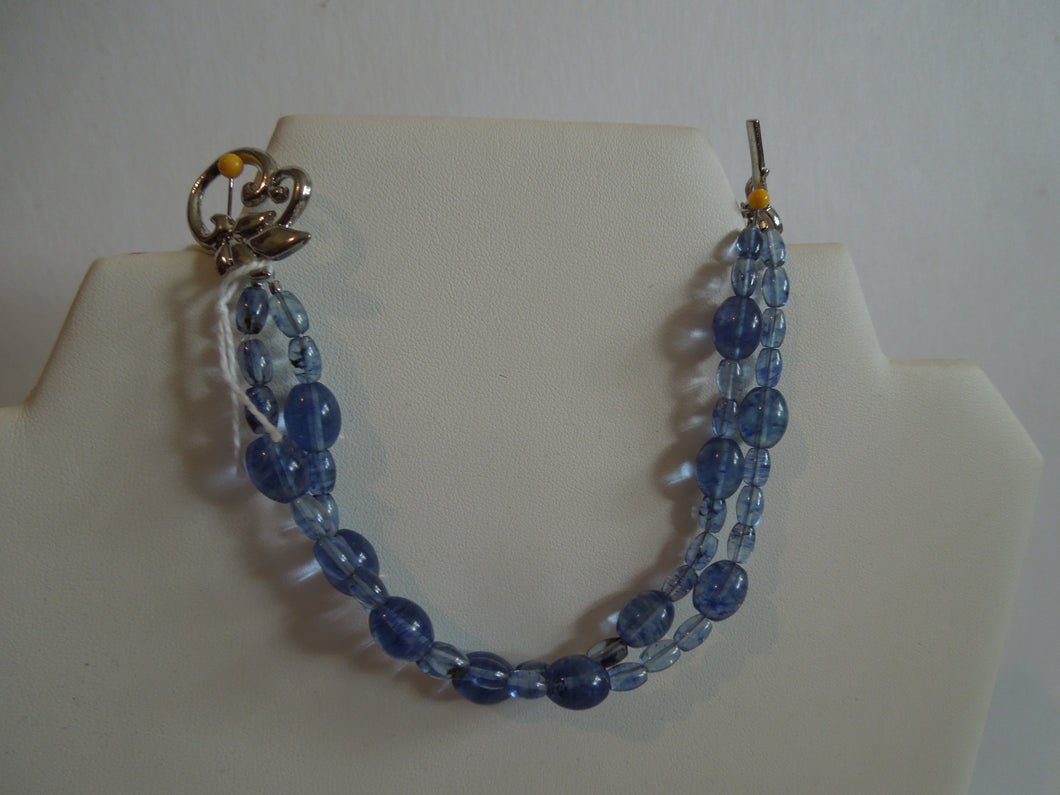 Blueberry Quartz Bracelet