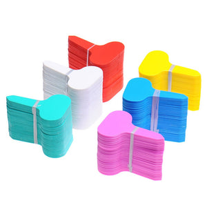 100Pcs Plant Tags T-type Garden Nursery Label PP Plastic Plant Tags Markers Nursery Pots Seedling Labels Tray Mark Tools