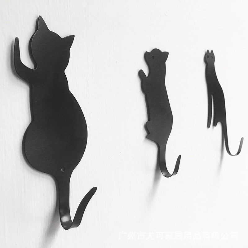 Cute Cat Tail Wall Hooks