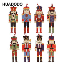 3Pcs Wooden Nutcracker Ornaments