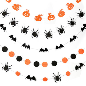 4 m Halloween Paper Chain Garland