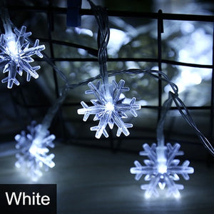 Christmas Warm White Pine Cone String Lights