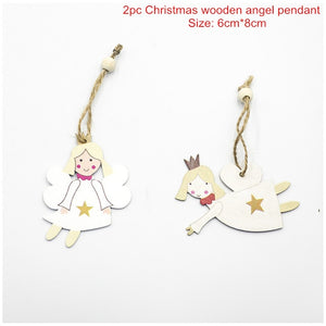 Christmas Wooden Letter Decoration