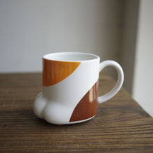 Porcelain Cat Paw Mug