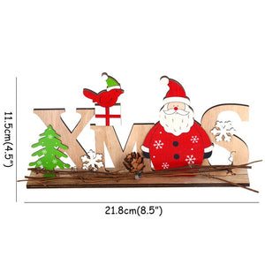 Merry Christmas Gift Box Santa Claus Xmas Tree Ornaments Ball New Year Navidad Christmas Kitchen Decorations For Home Kerst Noel
