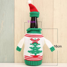 Christmas Wine Bottle Cover