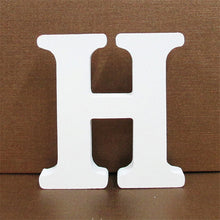 White Wooden Letters (English Alphabet)