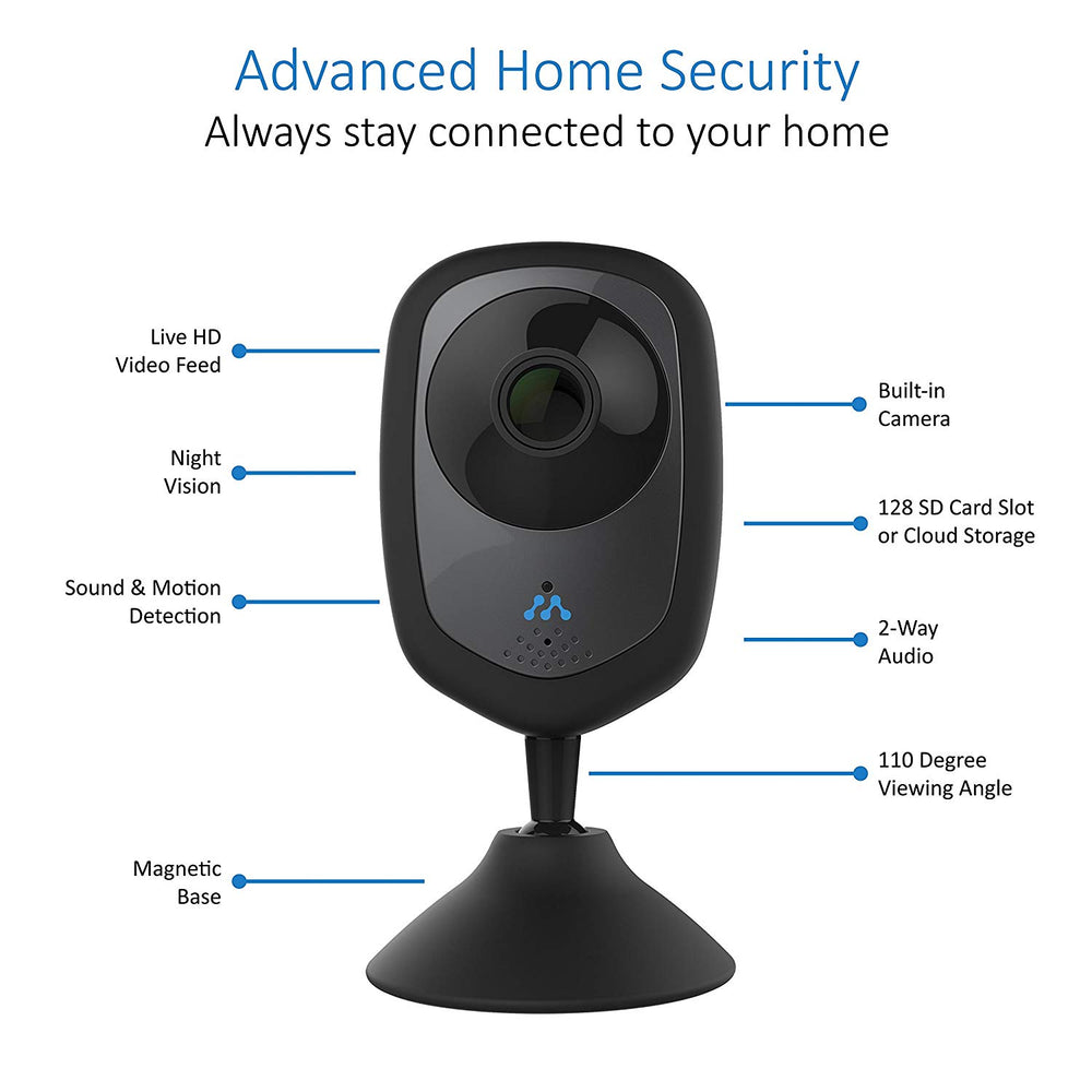 Axel 2-Pack HD Smart Home Security Camera
