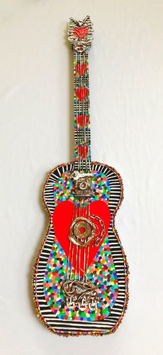 Red Heart Guitar