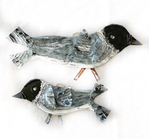 Baby Nuthatch Bird ornament
