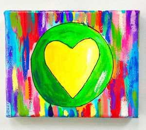 Little Yellow Heart (Sold)