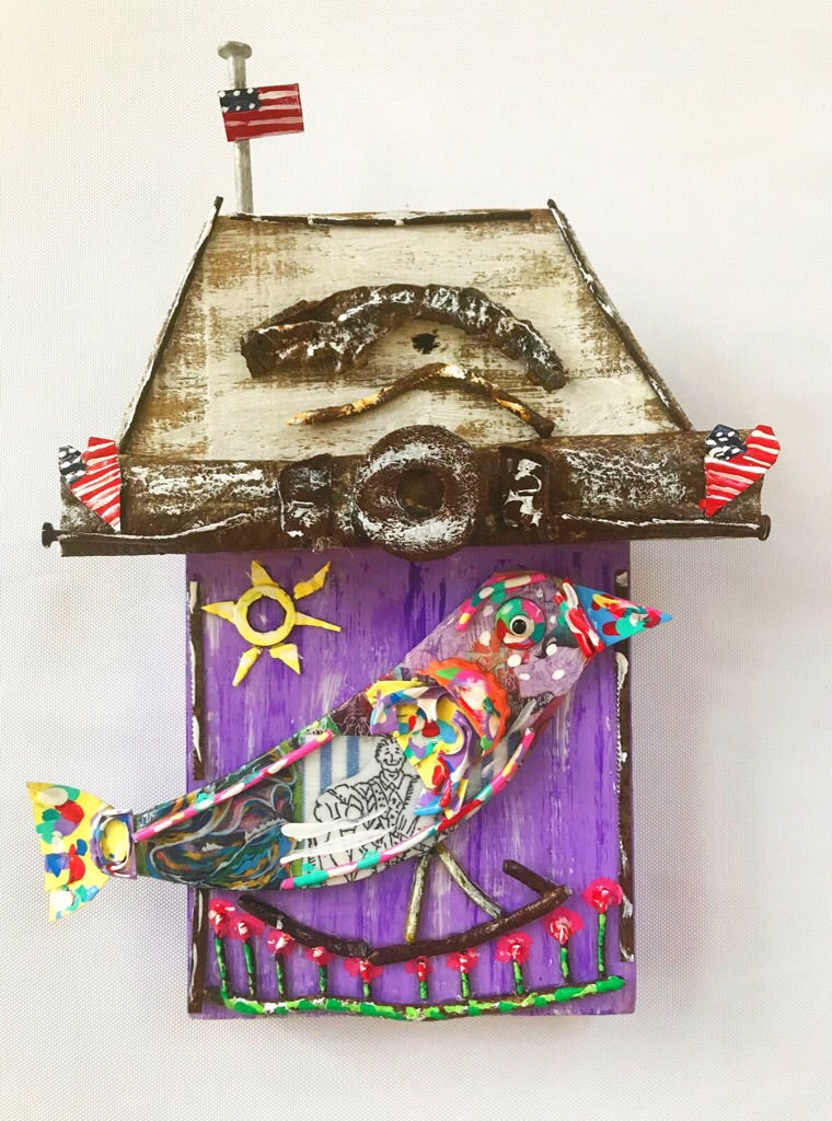 Little Purple Bird Shack