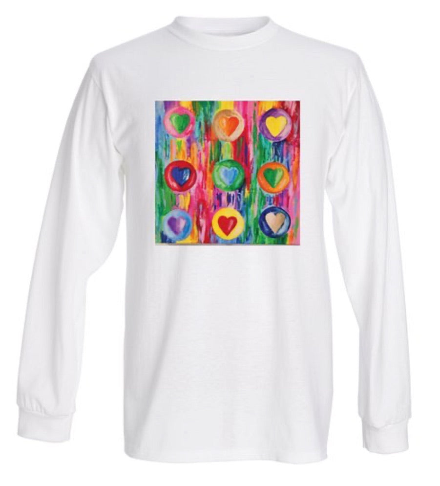Multiple Hearts (wearable art)