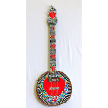 Red Heart Banjo