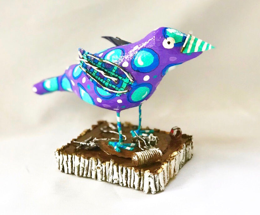 Mr Purple Bird