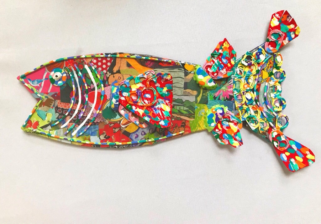 Mixed Media Fish (medium #1)