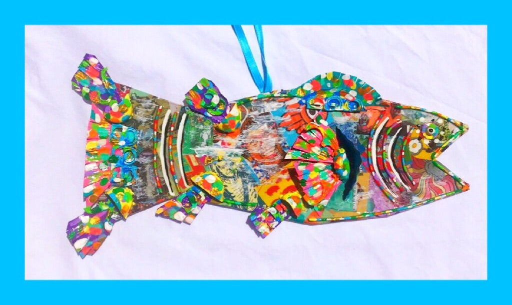 Mixed Media Fish