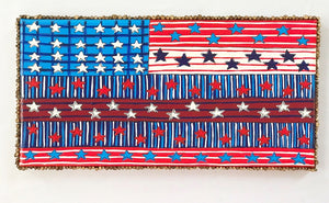 Red, White and Blue for You (Sorry..this one is gone but I would be happy to make you something similar.)