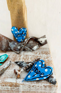 Little Angel of Hope and Love (Blue Hearts)