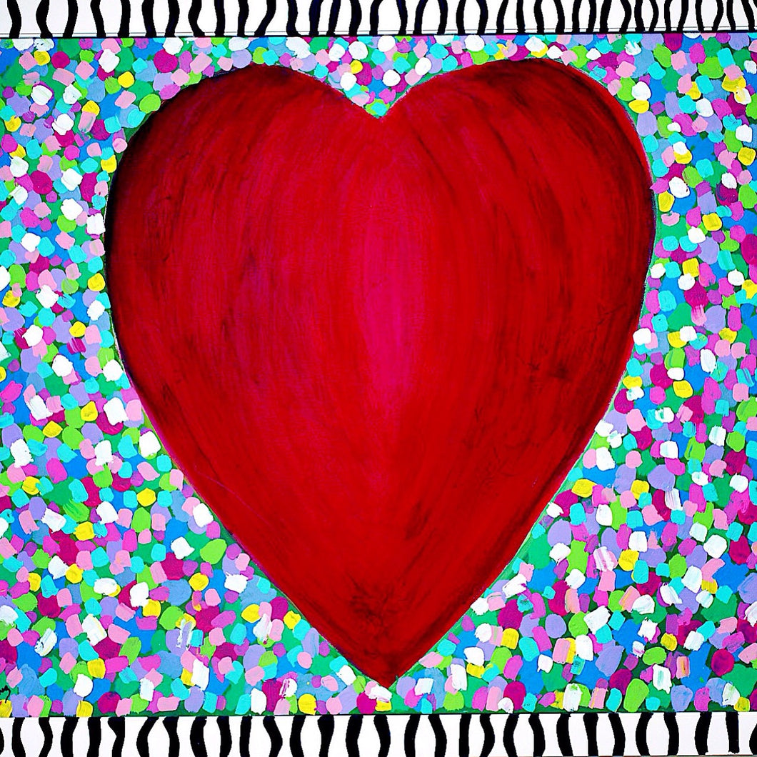 Big Heart Notecards
