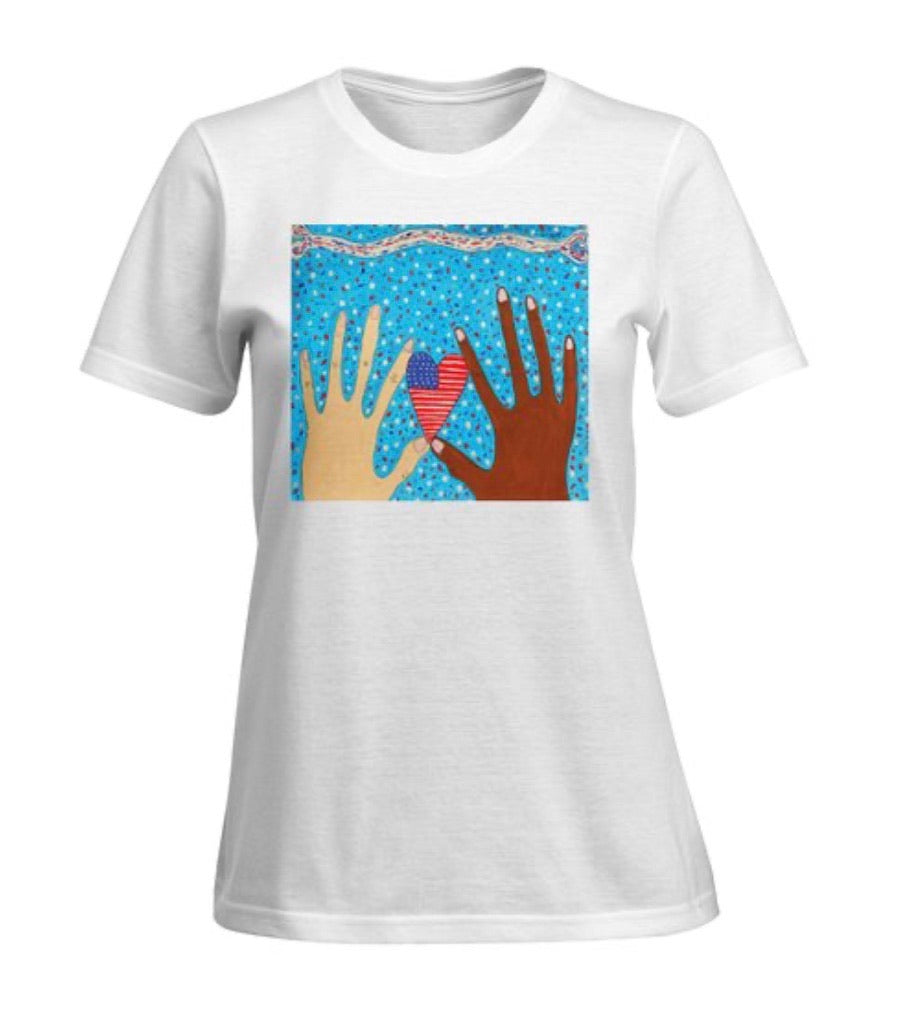 Two Hands Making A Difference (wearable art)