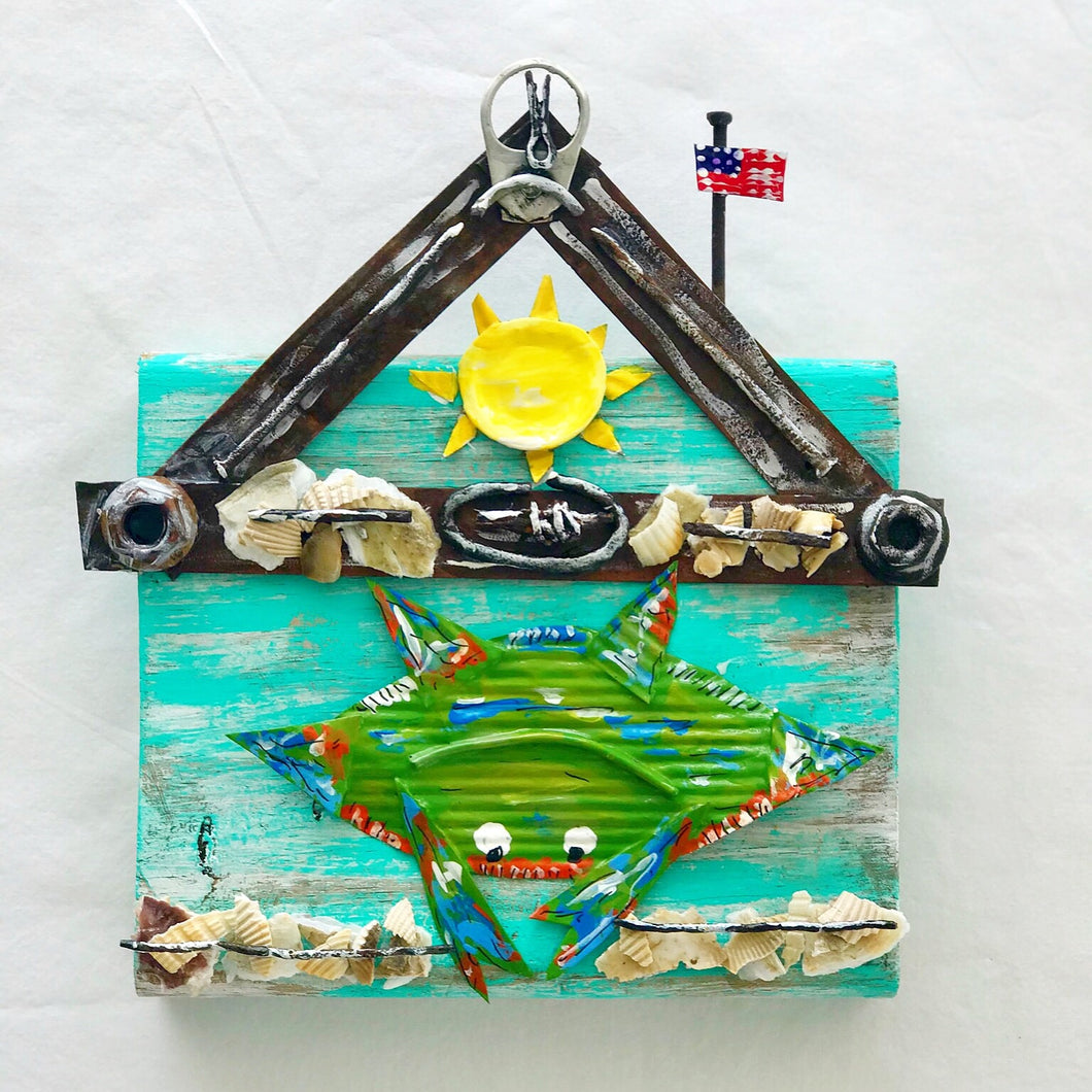 Crab by the Green Shack