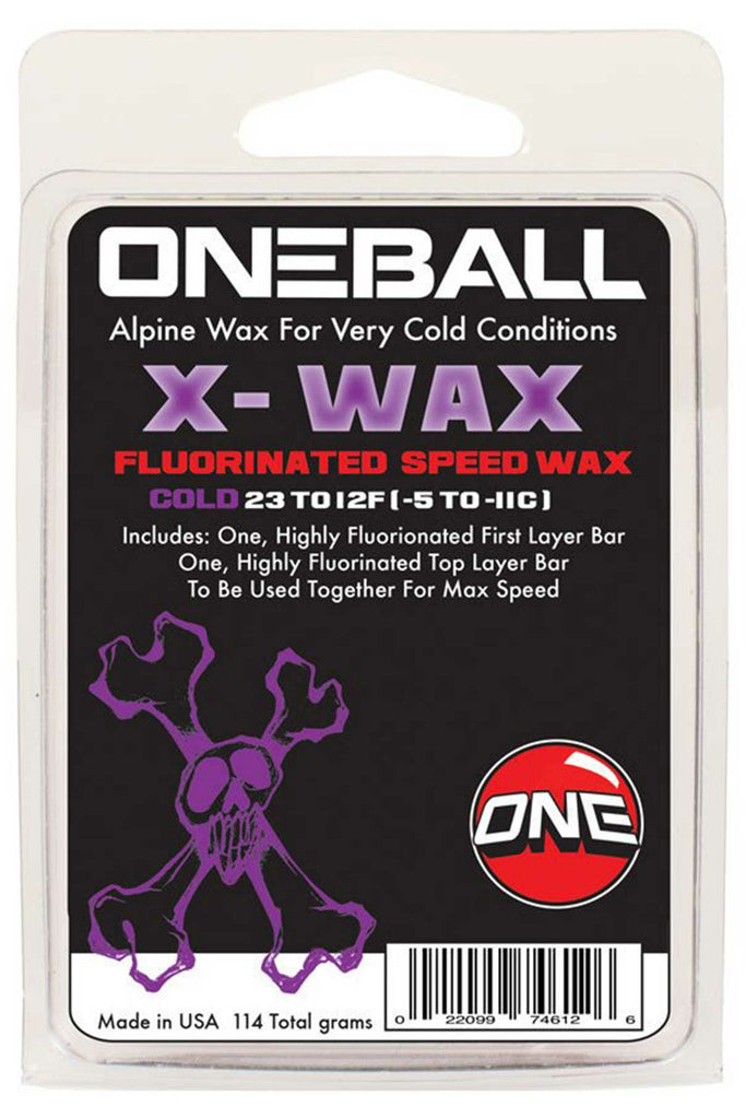 One Ball X-Wax 110gram Cold, Cool and Warm