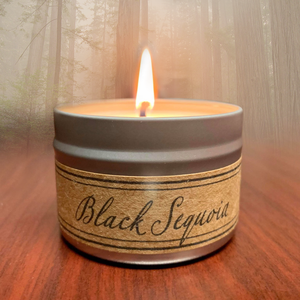 Black Sequoia Soy Wax Candle