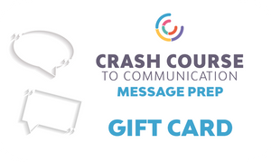 Crash Course to Message Prep: Gift Card
